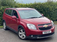 USED 2011 61 CHEVROLET ORLANDO 2.0 LTZ VCDI 5d 163 BHP SATELLITE NAVIGATION, 7 SEATS