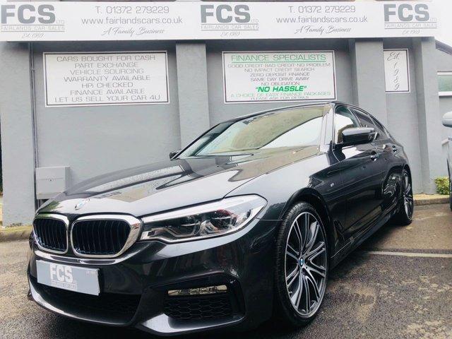 2017 67 BMW 5 SERIES 3.0 530D M SPORT 4d 261 BHP