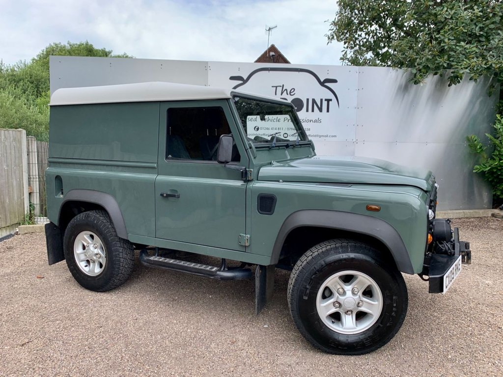 USED 2009 09 LAND ROVER DEFENDER 2.4 90 HARD TOP SWB 2d 121 BHP