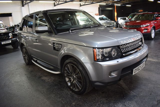USED 2012 62 LAND ROVER RANGE ROVER SPORT 3.0 SDV6 HSE 5d 255 BHP LOVELY CONDITION THROUGHOUT - HSE - 3.0 SDV6 255BHP - LEATHER - NAV - TV - 20 INCH ALLOYS - REVERSE CAMERA