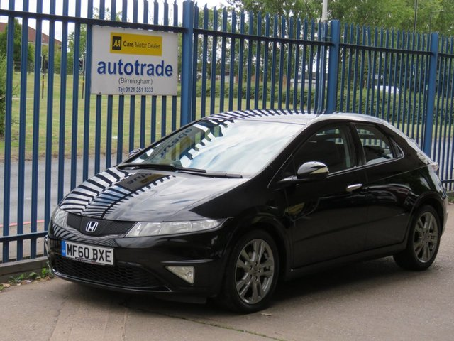 USED 2010 60 HONDA CIVIC 1.8 I-VTEC SI 5d 138 BHP climate control ULEZ COMPLIANT ULEZ COMPLIANT, CLIMATE CONTROL, CENTRAL LOCKING, ALLOY WHEELS, HEATED DOOR MIRRORS,