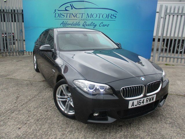 USED 2014 64 BMW 5 SERIES 2.0 520D M SPORT STEP 4d 181 BHP