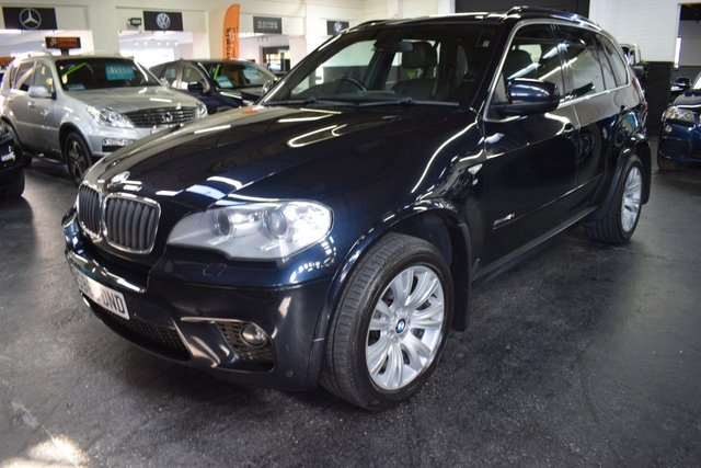 USED 2010 60 BMW X5 3.0 XDRIVE 30D M SPORT 248bhp LOVELY CONDITION - S/H - XDRIVE - LEATHER - 19 INCH ALLOY WHEELS - UPGRADED MEDIA SYSTEM - HEATED SEATS