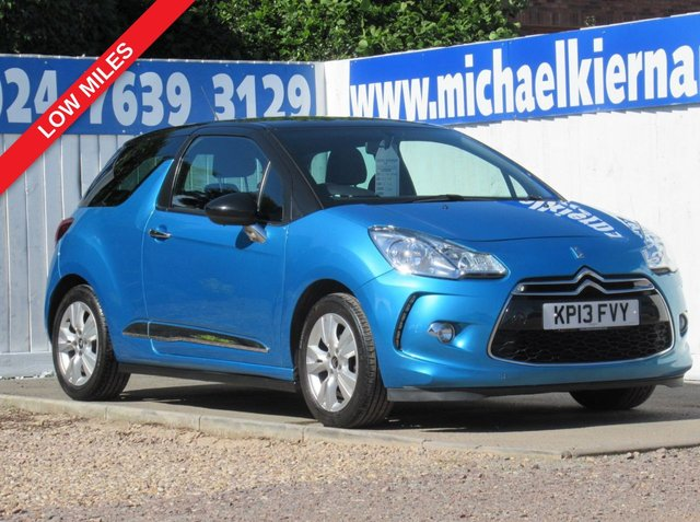 USED 2013 13 CITROEN DS3 1.6 e-HDI Airdream DStyle IMMACULATE