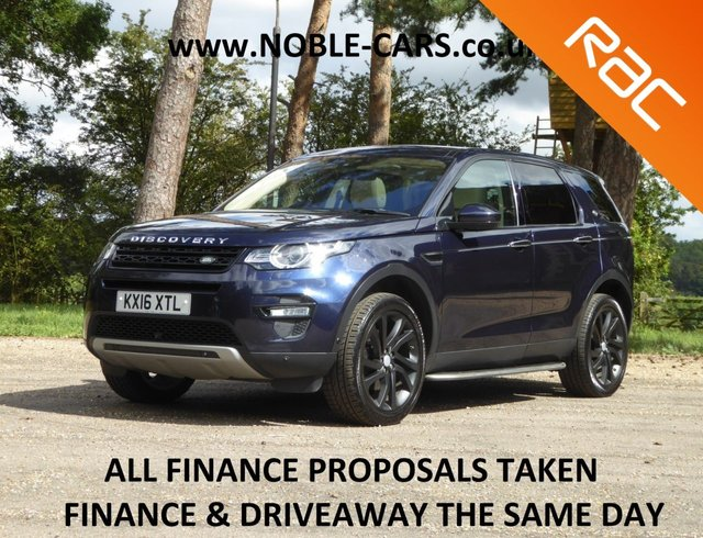 USED 2016 16 LAND ROVER DISCOVERY SPORT 2.0 TD4 HSE LUXURY 5d 180 BHP
