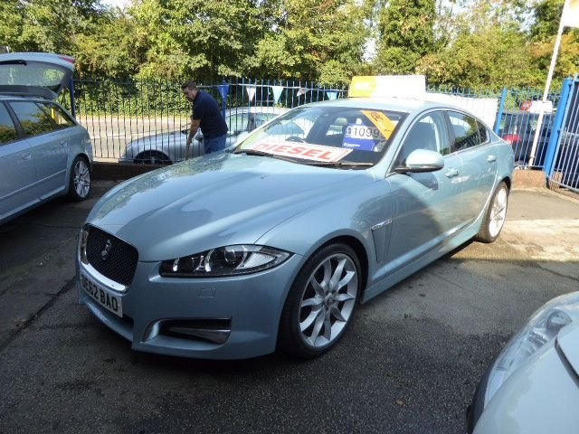 USED 2012 62 JAGUAR XF 3.0 D V6 S PREMIUM LUXURY 4d 275 BHP DAB RADIO.. AIR CONDITIONING..