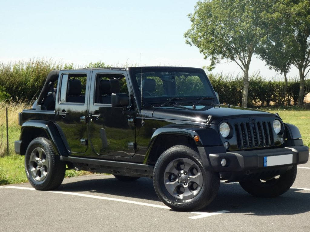 USED 2017 67 JEEP WRANGLER 2.8 CRD NIGHT EAGLE UNLIMITED 4d 197 BHP