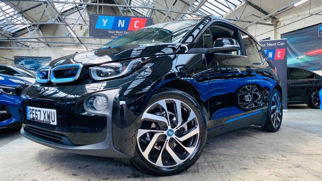 USED 2017 67 BMW I3 33kWh Auto 5dr HK SOUND 19S LEATHER ! STUNNER