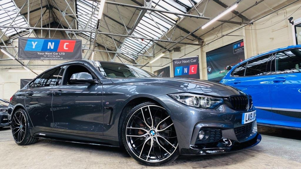 USED 2019 19 BMW 4 SERIES 2.0 420i GPF M Sport Gran Coupe Auto (s/s) 5dr PERFORMANCE KIT 1 OWNER ++
