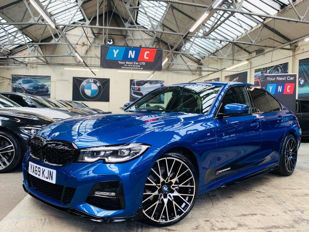 USED 2019 69 BMW 3 SERIES 2.0 320d M Sport Auto (s/s) 4dr PERFORMANCE KIT ++ 20S 1OWNER