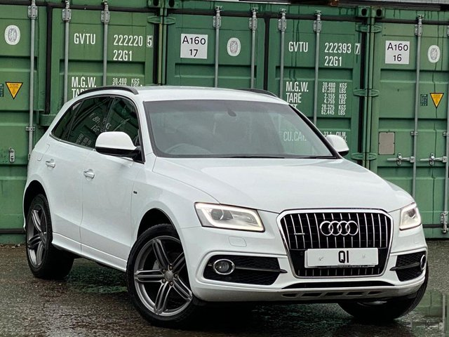 USED 2015 15 AUDI Q5 2.0 TDI S line Plus S Tronic quattro (s/s) 5dr BUY ONLINE + FREE DELIVERY