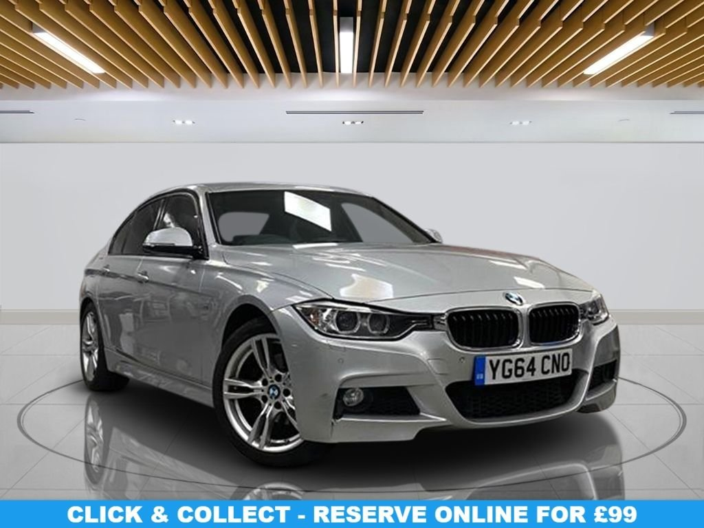 """USED 2014 64 BMW 3 SERIES 2.0 320D M SPORT 4d 181 BHP M SPORT PACKAGE 18"""" Alloy Wheels, Audio System - Business Media, Climate Control, Privacy Glass, Leather Upholstery"""