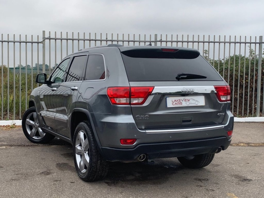 USED 2011 11 JEEP GRAND CHEROKEE 3.0 V6 CRD LIMITED 5d 237 BHP