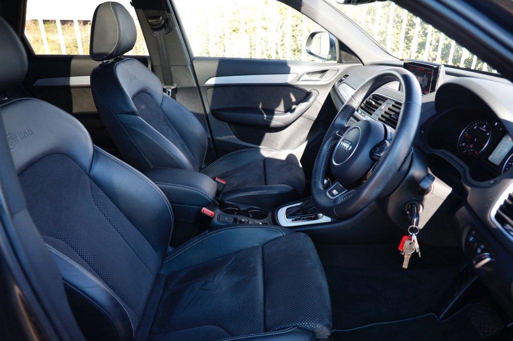 USED 2016 66 AUDI Q3 2.0 TDI QUATTRO S LINE PLUS 5d 182 BHP
