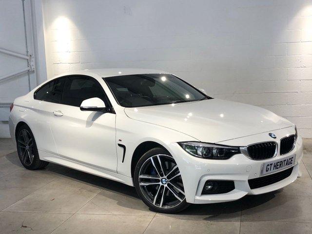 2018 18 BMW 4 SERIES 420I XDRIVE M SPORT [PRONAV][HK][PDC]