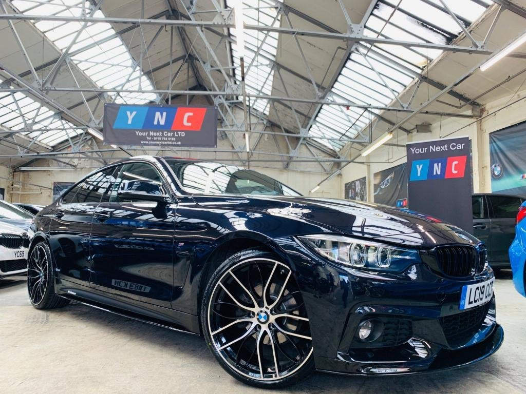 USED 2019 19 BMW 4 SERIES 2.0 420i GPF M Sport Gran Coupe Auto (s/s) 5dr PERFORMANCE KIT 20S STUNNER!