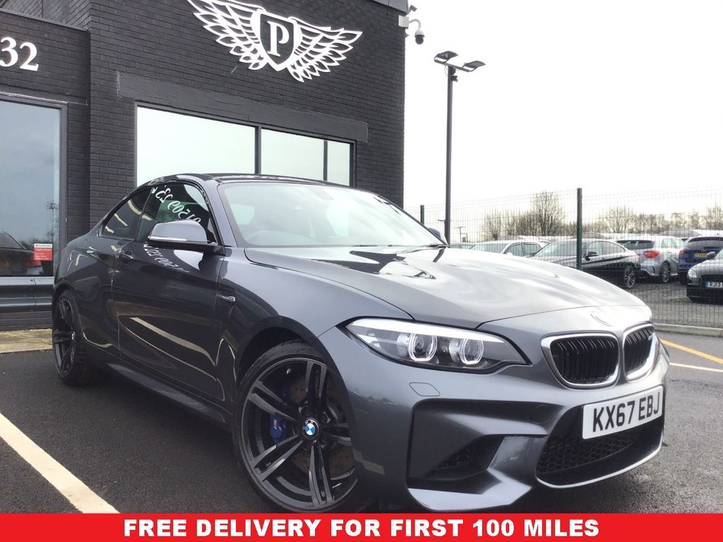 USED 2017 67 BMW M2 3.0 M2 2d 365 BHP *FULL VALET, MOT, SERVICE AND WARRANTY INC - 7 DAYS MONEY BACK GUARANTEE - FREE DELIVERY*
