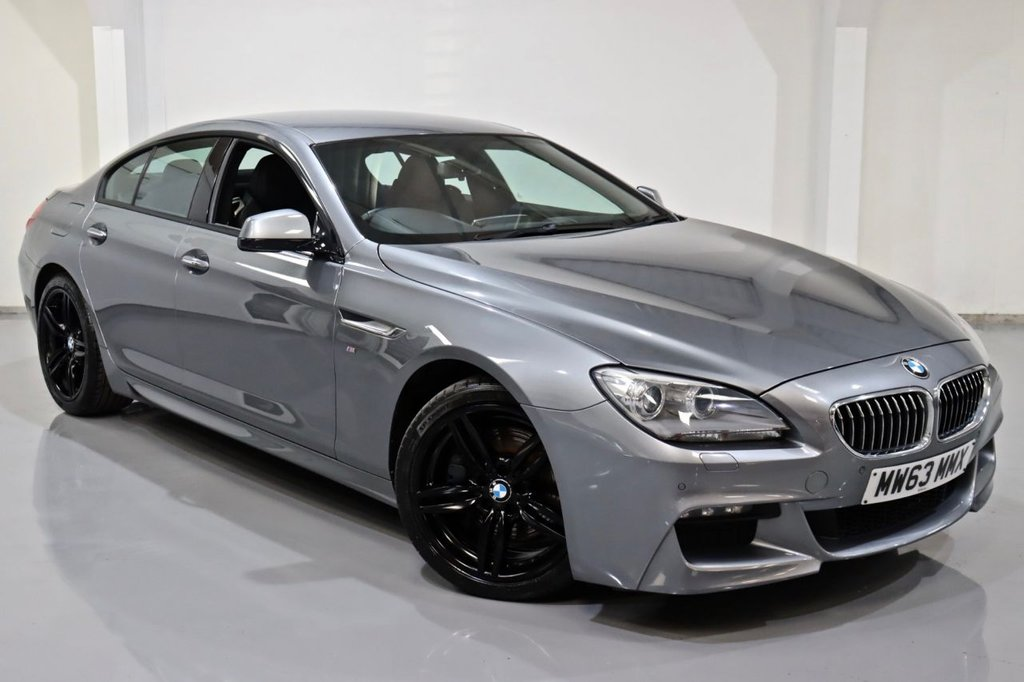 USED 2013 63 BMW 6 SERIES 3.0 640D M SPORT GRAN COUPE 4d 309 BHP
