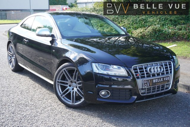 USED 2008 58 AUDI A5 4.2 S5 FSI QUATTRO 3d 354 BHP - FREE DELIVERY* *SPORTS PADDLE SHIFT, CRUISE CONTROL, FULL LEATHER!*