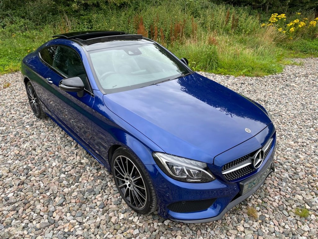 USED 2017 17 MERCEDES-BENZ C-CLASS 2.1 C 250 D 4MATIC AMG LINE PREMIUM PLUS 2d 201 BHP