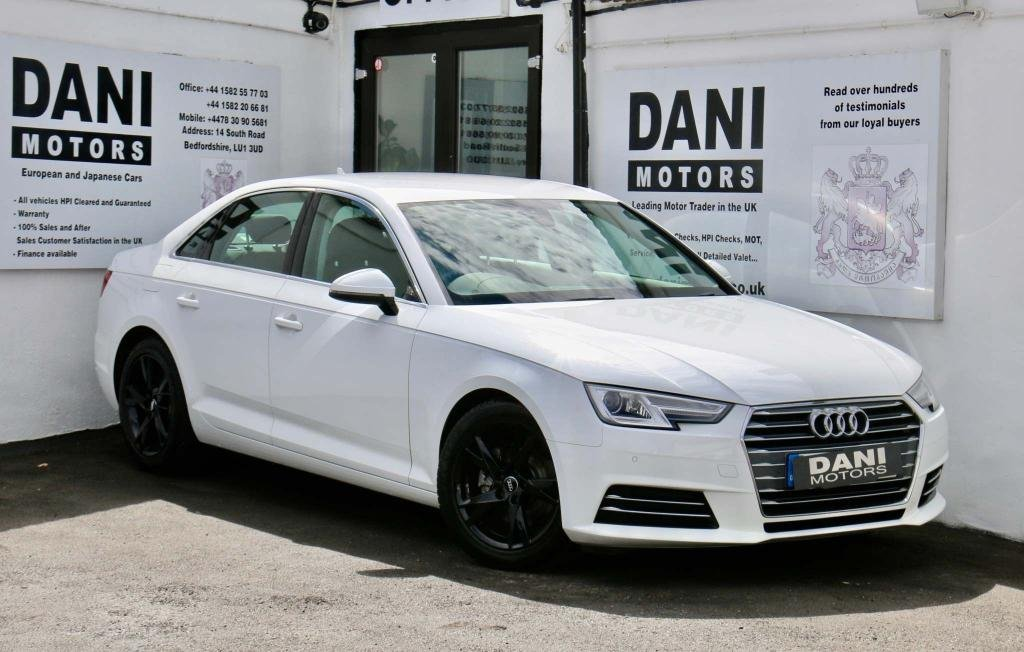 USED 2017 17 AUDI A4 2.0 TDI ultra Sport S Tronic (s/s) 4dr 1 OWNER*SATNAV*PARKING AID
