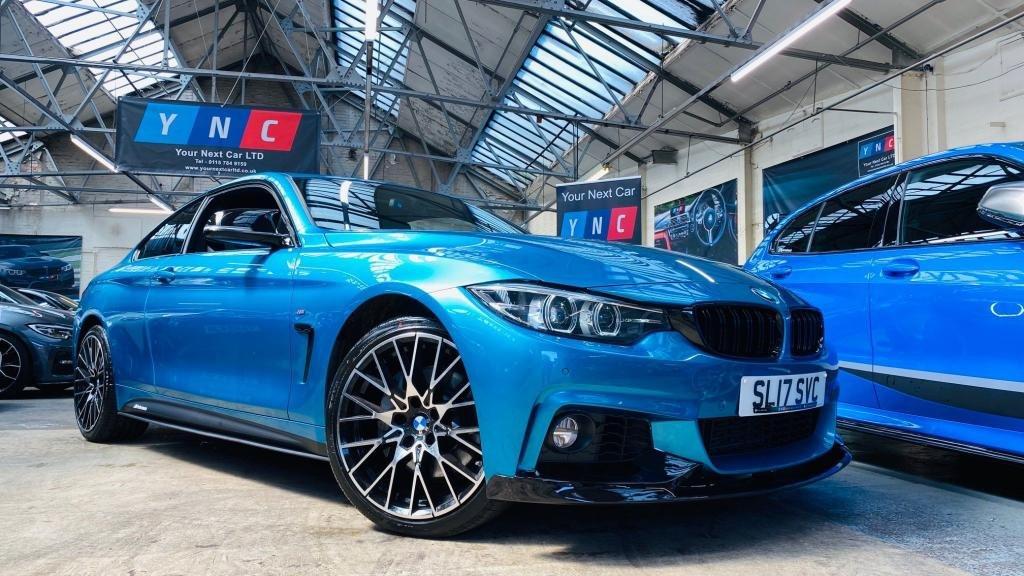 USED 2017 17 BMW 4 SERIES 3.0 435d M Sport xDrive 2dr PERFORMANCEKIT+APPCARPLAY+19S