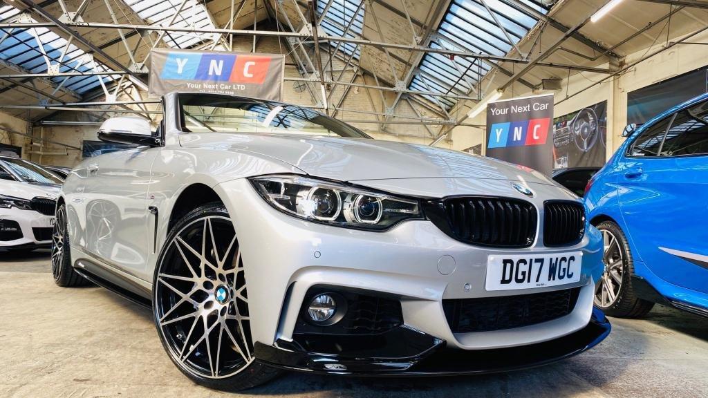 USED 2017 17 BMW 4 SERIES 3.0 435d M Sport xDrive 2dr PERFORMANCEKIT+20S+LOWMILES!