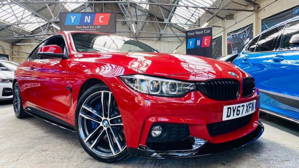 USED 2017 67 BMW 4 SERIES 3.0 440i M Sport Auto (s/s) 2dr PERFORMANCEKIT+19S+PLUSPACK!