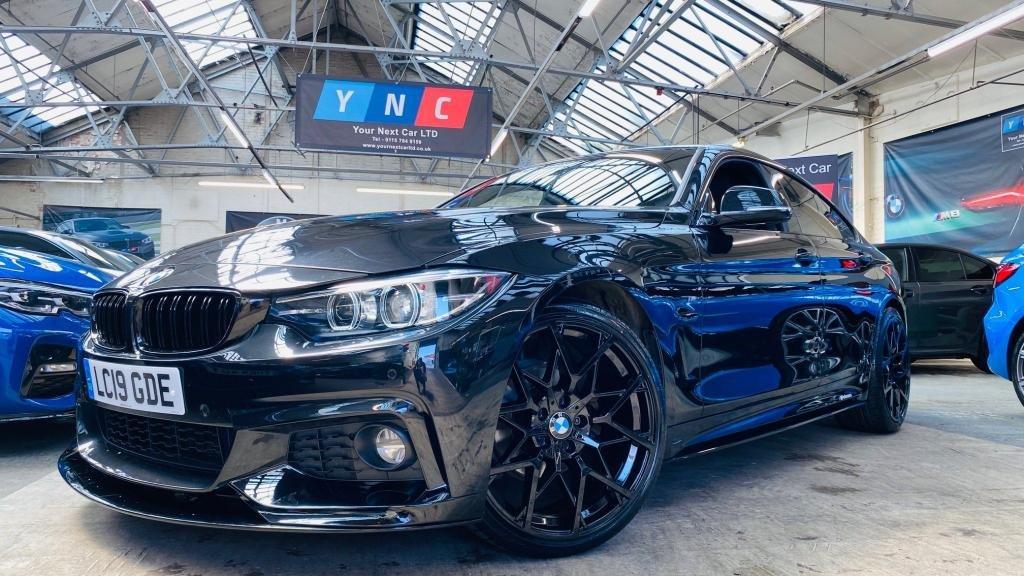 USED 2019 19 BMW 4 SERIES 2.0 420i GPF M Sport Gran Coupe Auto (s/s) 5dr PERFORMANCEKIT+ALEXAVOICE+19S
