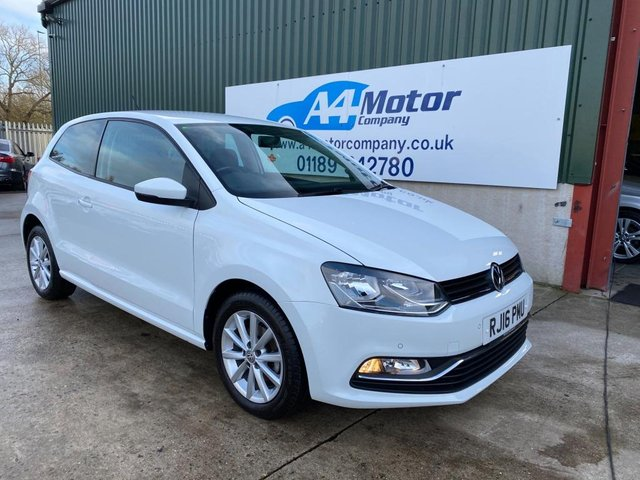 2016 16 VOLKSWAGEN POLO 1.2 TSI BlueMotion Tech Match (s/s) 3dr