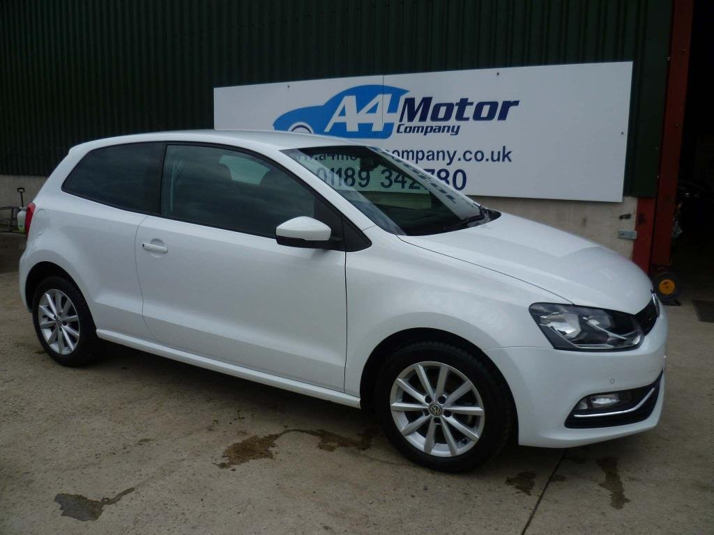 USED 2016 16 VOLKSWAGEN POLO 1.2 TSI BlueMotion Tech Match (s/s) 3dr LOW !LOW! MILEAGE FULL HISTORY
