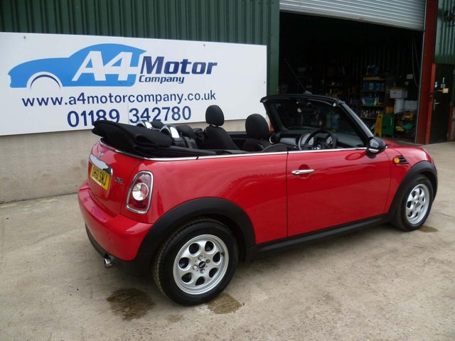 2011 61 MINI CONVERTIBLE 1.6 One (Salt) 2dr