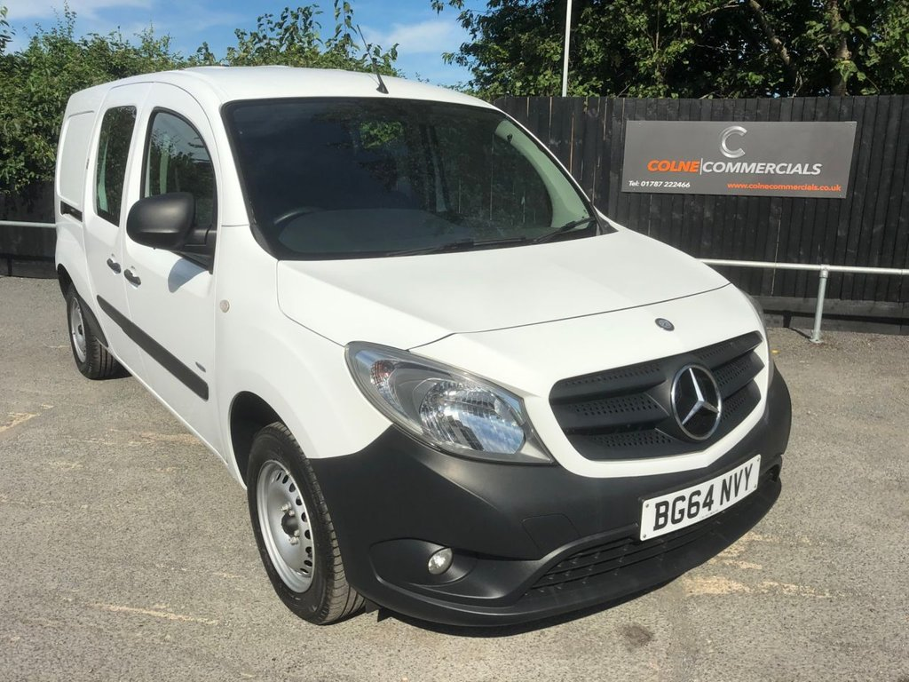 USED 2014 64 MERCEDES-BENZ CITAN 1.5CDI 109 BLUEEFFICIENCY DUALINER