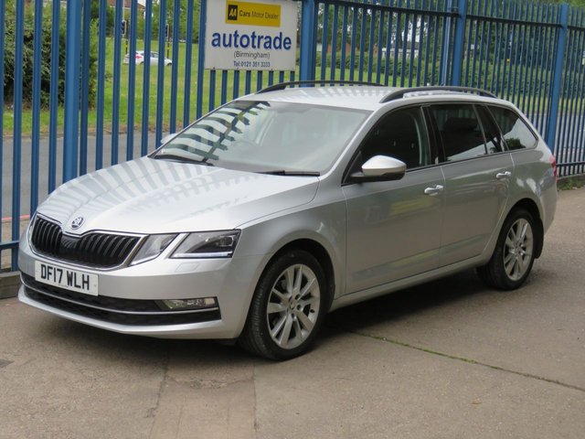 USED 2017 17 SKODA OCTAVIA 1.6 SE L TDI DSG Estate 114 BHP Auto Sat nav 1/2 Leather DAB Cruise Privacy Alloys Finance arranged Part exchange available Open 7 days ULEX Compliant