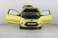 USED 2014 14 FORD KA 1.2 ZETEC 3d 69 BHP ALLOYS | AIR CON |