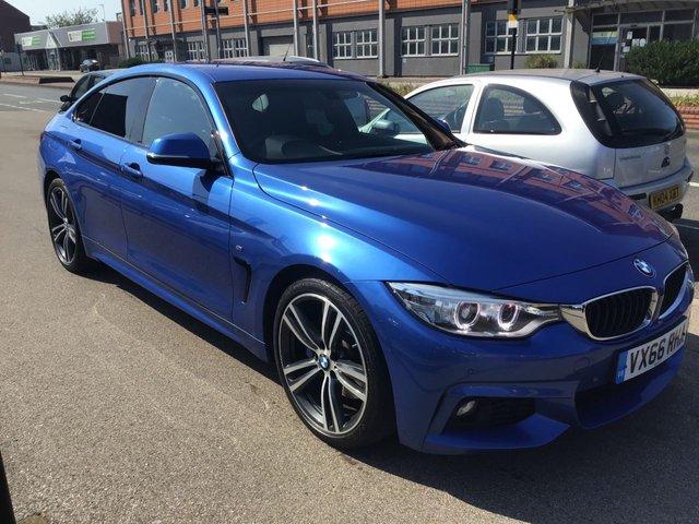2016 BMW 4 Series 420d M Sport Gran Coupe £13,995