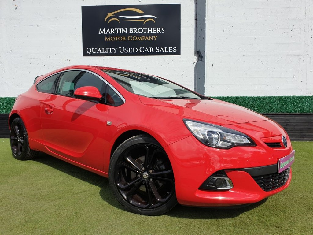 USED 2016 16 VAUXHALL ASTRA 1.4 GTC LIMITED EDITION S/S 3d 118 BHP