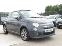 USED 2014 14 FIAT 500 1.2 C S 3d 69 BHP * NO ADMIN FEES * + SAFETY MEASURES IN PLACE