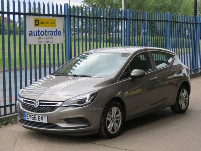 USED 2016 66 VAUXHALL ASTRA 1.6 TECH LINE CDTI ECOFLEX S/S 5dr 108 Sat nav Cruise Alloys Bluetooth & DAB, Zero Road Tax Finance arranged Part exchange available Open 7 days ULEX Compliant