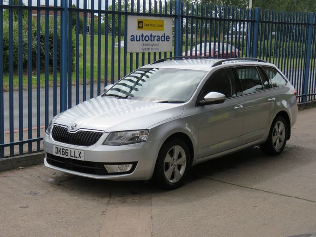 USED 2016 66 SKODA OCTAVIA 1.6 SE L TDI 5d 109 BHP, Zero Road Tax, Ulez Compliant, Sat Nav ULEZ Compliant, Colour Sat Nav -Zero Tax Rear Park Assist-Great Fuel Economy