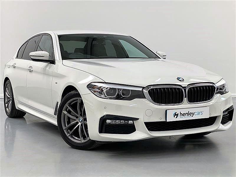 USED 2018 18 BMW 5 SERIES 2.0 520I M SPORT