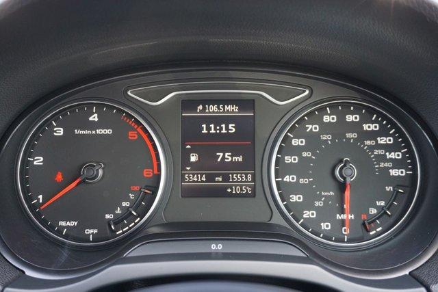 USED 2016 16 AUDI A3 1.6 TDI S LINE NAV QUATTRO 4d 109 BHP *GOOD SPEC, LONG MOT, GOOD EXAMPLE*