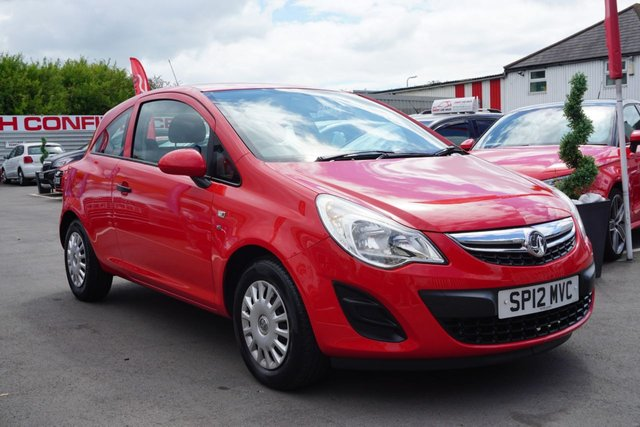 USED 2012 12 VAUXHALL CORSA 1.0 S ECOFLEX 3d 64 BHP GOOD EXAMPLE, DRIVES SUPERB, IDEAL FIRST CAR