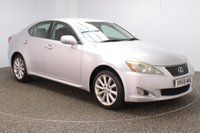 USED 2009 58 LEXUS IS 2.2 220D SE-I 4DR 175 BHP SERVICE HISTORY + HEATED LEATHER SEATS + PARKING SENSOR + CRUISE CONTROL + CLIMATE CONTROL + MULTI FUNCTION WHEEL + XENON HEADLIGHTS + RADIO/CD/AUX + ELECTRIC WINDOWS + ELECTRIC/HEATED/FOLDING DOOR MIRRORS + 17 INCH ALLOY WHEELS