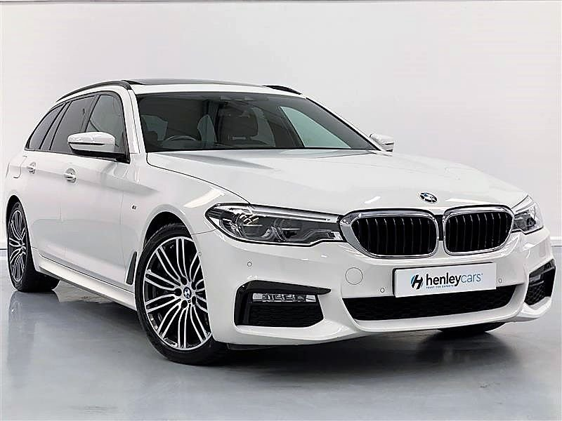 USED 2017 17 BMW 5 SERIES 3.0 530D M SPORT TOURING