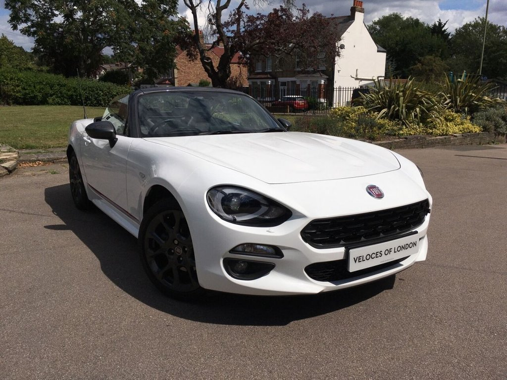 USED 2018 18 FIAT 124 1.4L SPIDER S-DESIGN 2d 139 BHP ..S DESIGN LIMITED EDITION..