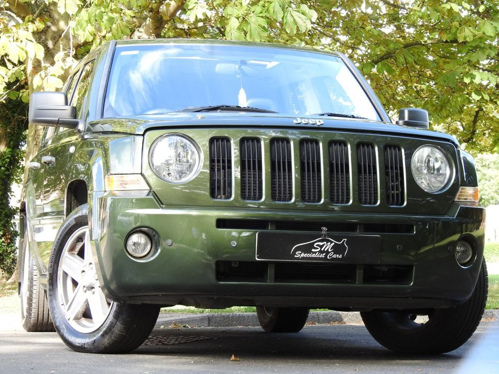 USED 2007 07 JEEP PATRIOT 2.4 LIMITED 5d 168 BHP VERY RARE ONLY 35K FROM NEW