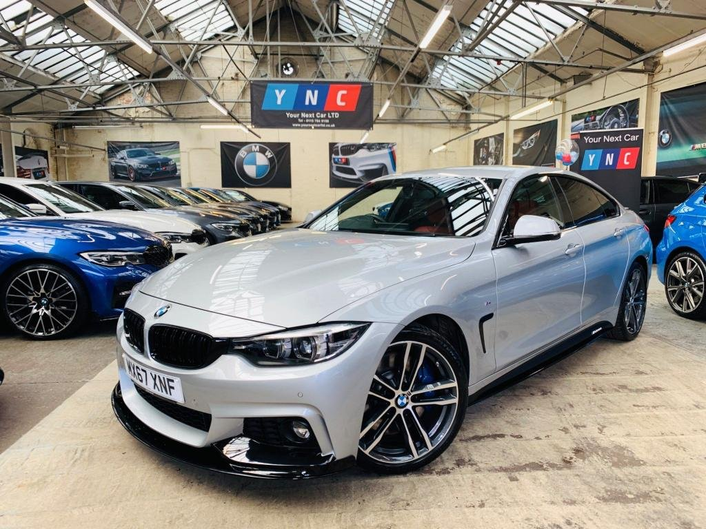 USED 2017 67 BMW 4 SERIES 2.0 430i M Sport Gran Coupe Auto (s/s) 5dr PERFORMANCE KIT 19S PLUS PACK