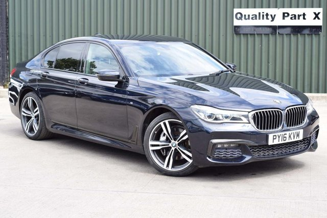 USED 2016 16 BMW 7 SERIES 3.0 730d M Sport Auto xDrive (s/s) 4dr CALL FOR NO CONTACT DELIVERY