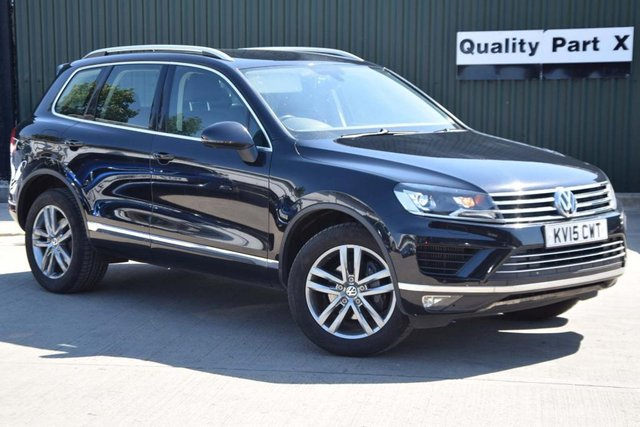 USED 2015 15 VOLKSWAGEN TOUAREG 3.0 TDI V6 BlueMotion Tech SE Tiptronic 4x4 (s/s) 5dr CALL FOR NO CONTACT DELIVERY